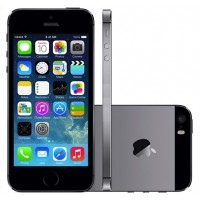 APPLE IPHONE 5S 64GB 4G WIFI IOS 7 CAMERA 8MP CINZA ESPACIAL NACIONAL DESBLOQUEADO